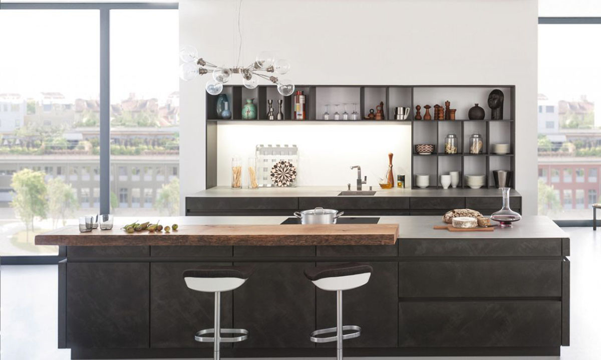 CONCRETE · Leicht Luna Kitchen Collection