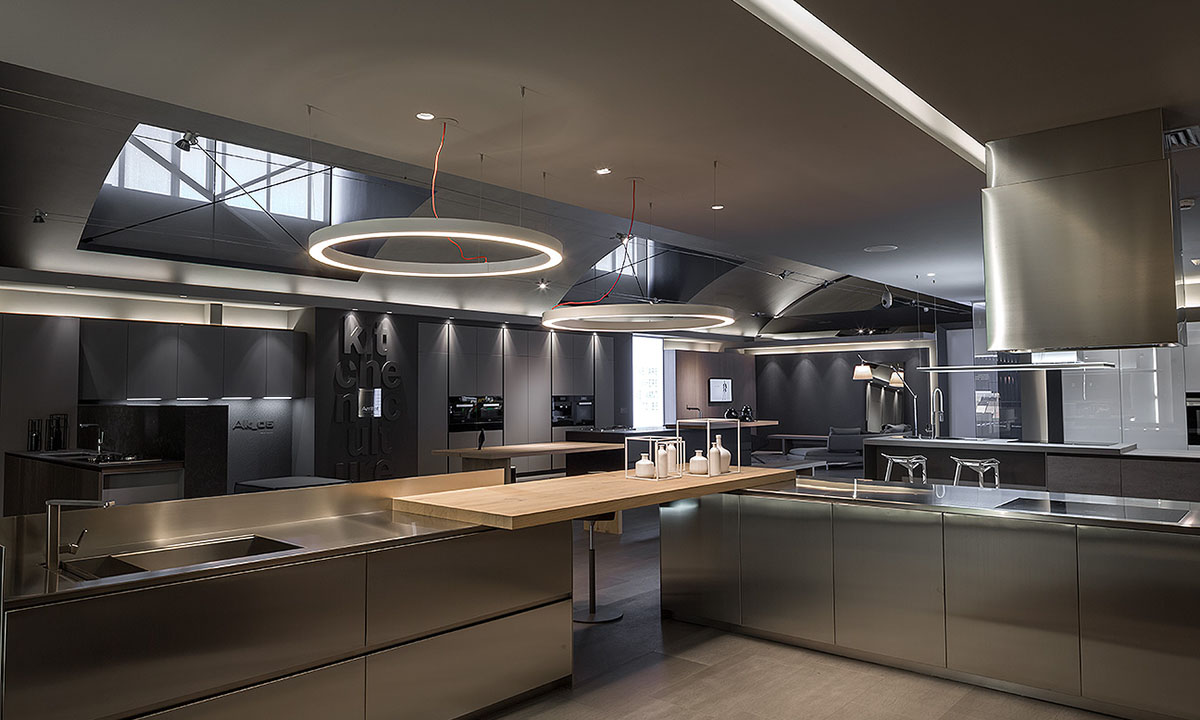 Lusso Kitchen Milano Showroom Collection